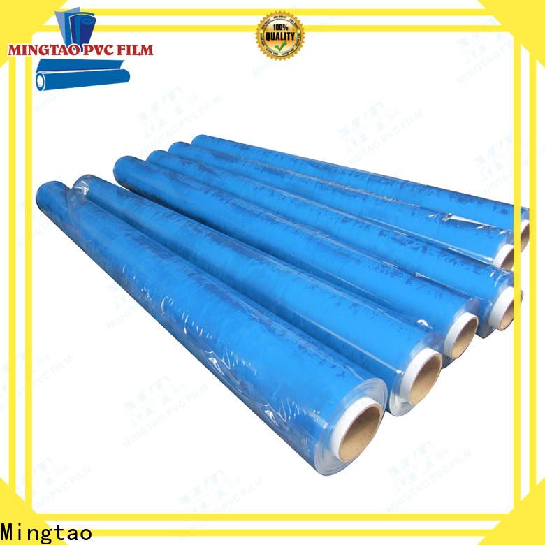 Mingtao transparent colored pvc sheets bulk production for packing