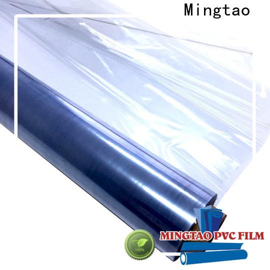 Mingtao waterproof clear pvc sheet supplier for table mat