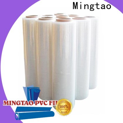 Mingtao high-quality stretch film material free sample for television cove