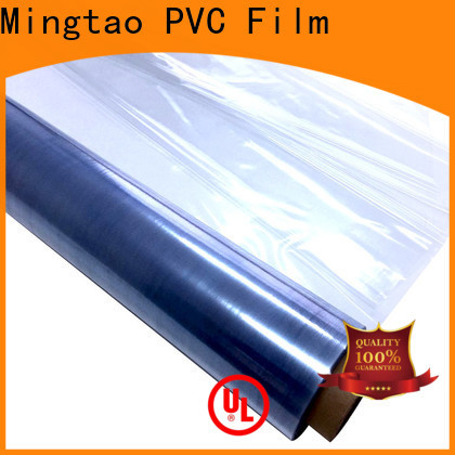 funky pvc sheet material non-sticky OEM for table mat