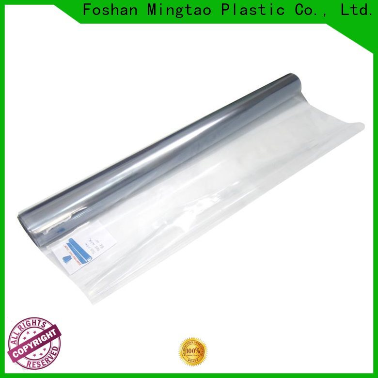 Mingtao durable pvc film manufacturers free sample for television cove