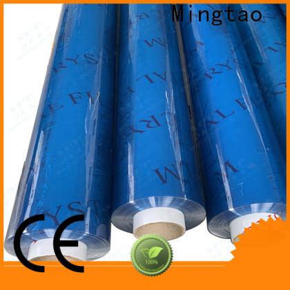 Mingtao blue flexible pvc sheet buy now for television cove