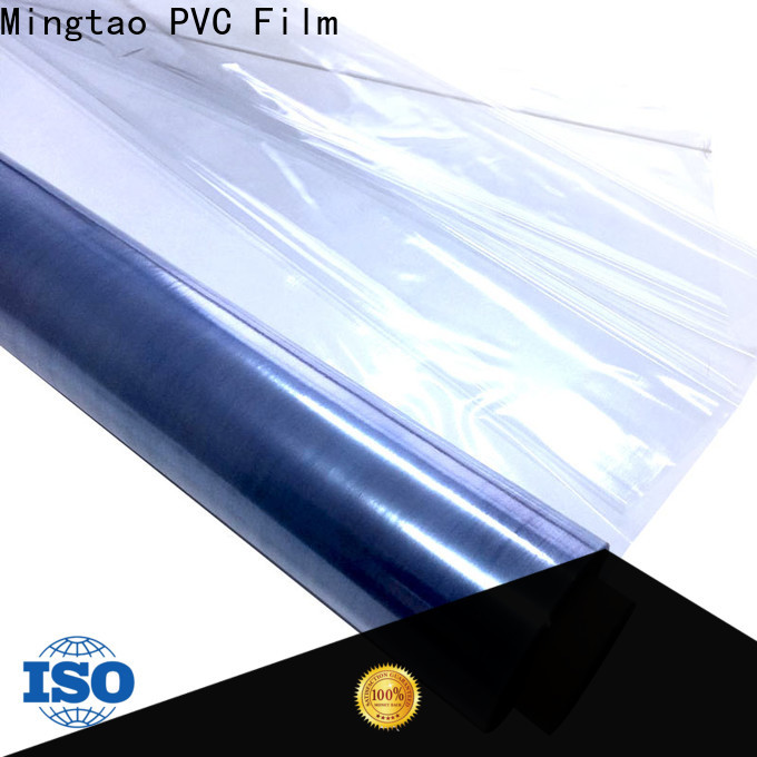Mingtao solid mesh white plastic sheeting supplier for television cove