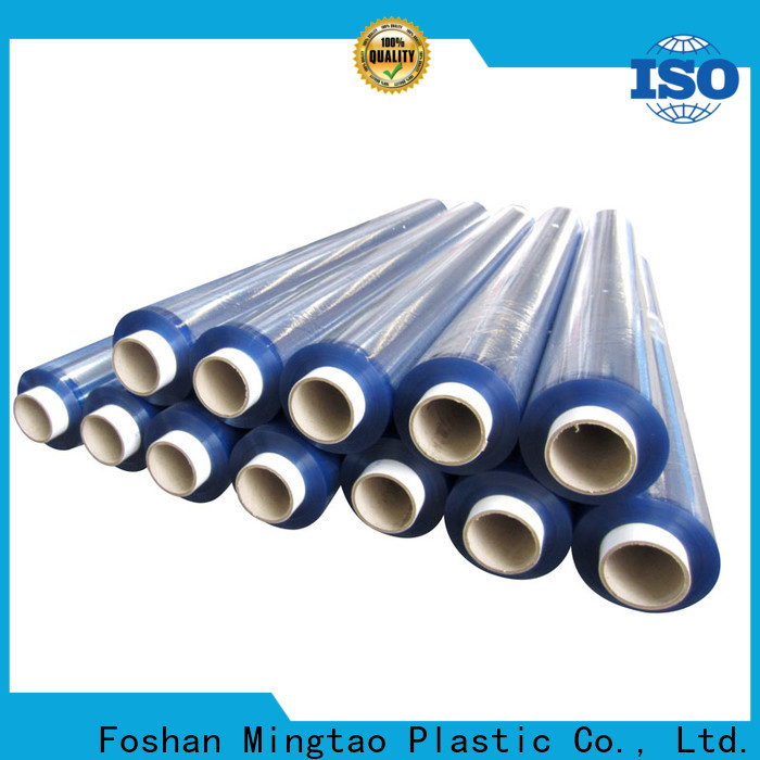 Mingtao at discount pvc stretch film customization for packing