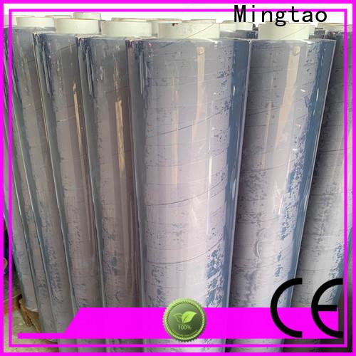 Mingtao flexible pvc plate OEM for table mat