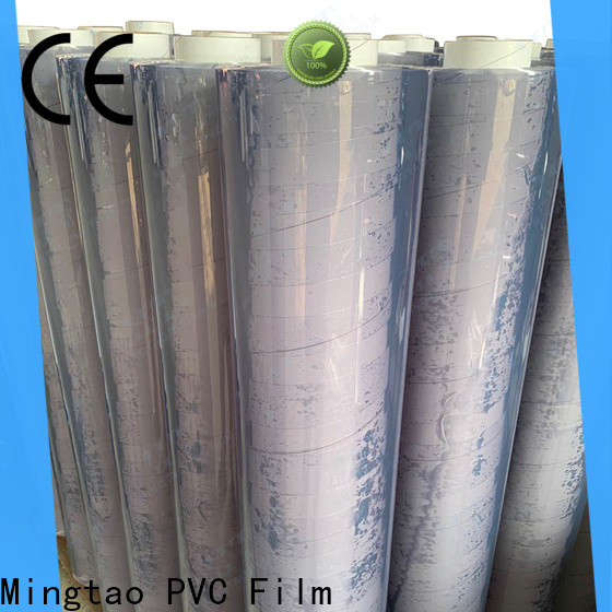Mingtao on-sale pvc sheet roll free sample for table cover