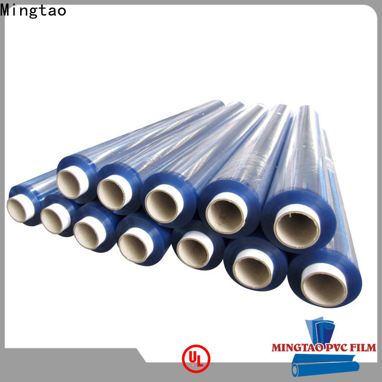 Mingtao solid mesh thick clear plastic film supplier for television cove