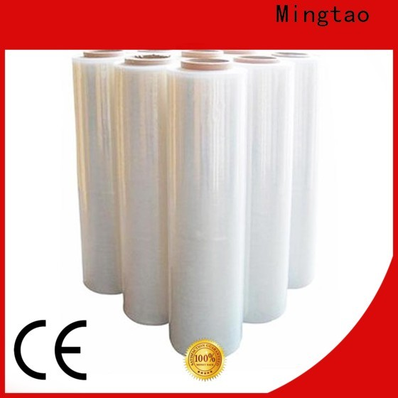 Mingtao solid mesh hand stretch wrap customization for table cover