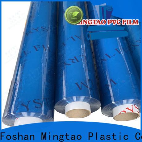 Mingtao funky pvc plastic film ODM for television cove