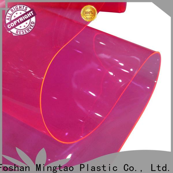 Latest pvc leather sheet company