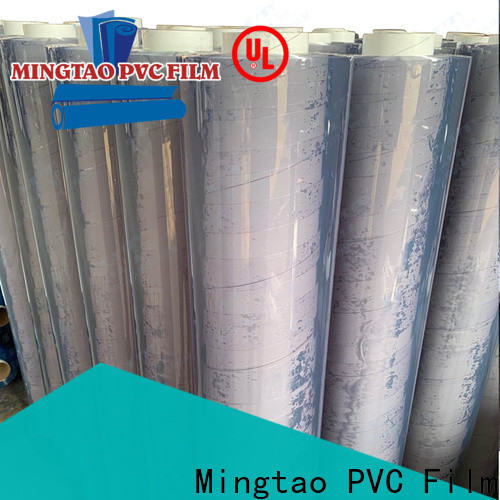 Mingtao durable pvc film printing bulk production for packing