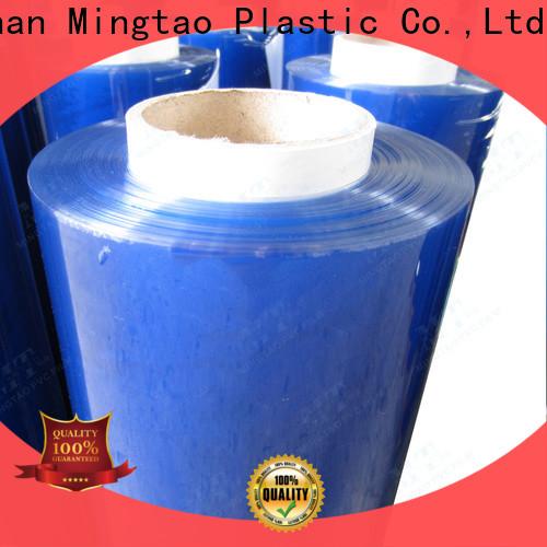 Mingtao blue pvc sheet roll bulk production for television cove