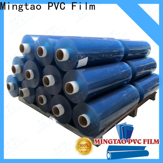 Mingtao blue clear pvc sheet manufacturers get quote for table mat