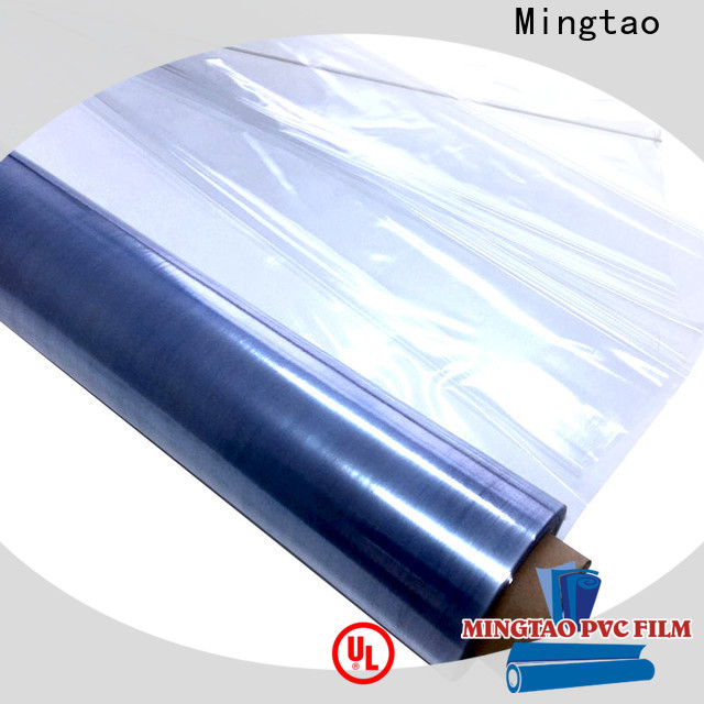 Mingtao latest clear pvc sheet roll customization for table mat