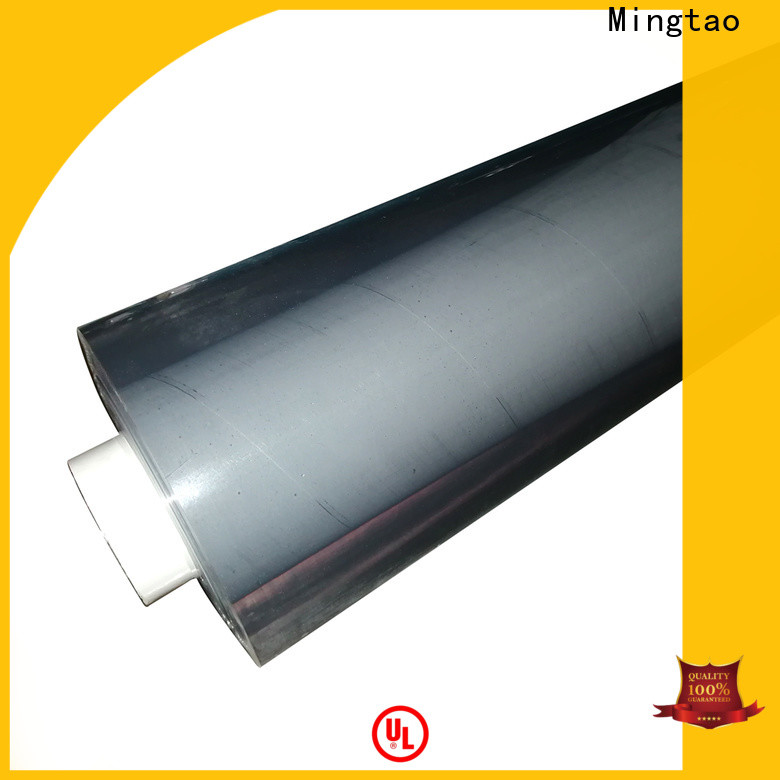 Mingtao durable clear pvc roll buy now for television cove
