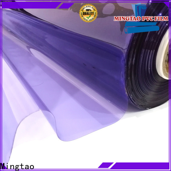 Mingtao pvc leather sheet for business