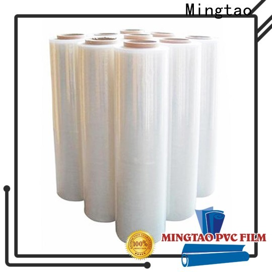 at discount pallet stretch film transparent OEM for television cove