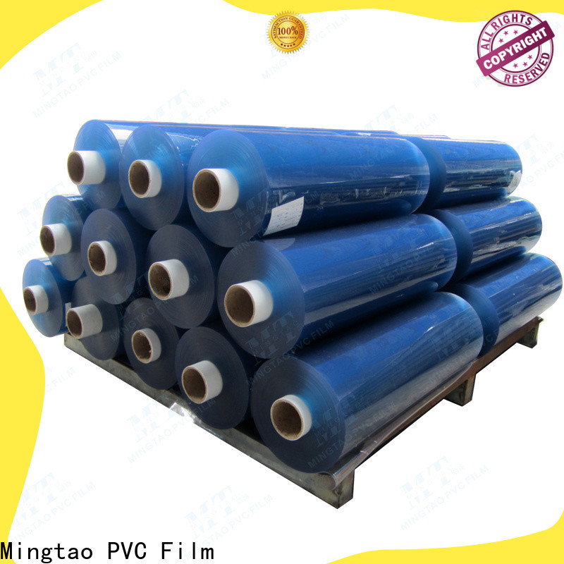 Mingtao pvc pvc clear plastic rolls bulk production for book covers