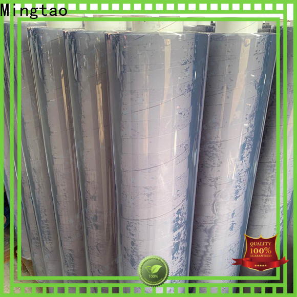 Mingtao latest pvc sheet manufacturers ODM for television cove