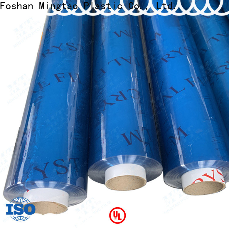 Mingtao latest pvc film OEM for table mat
