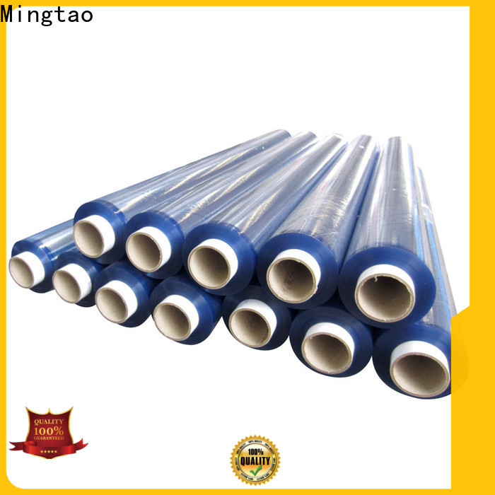 Mingtao portable pvc super clear film buy now for table mat