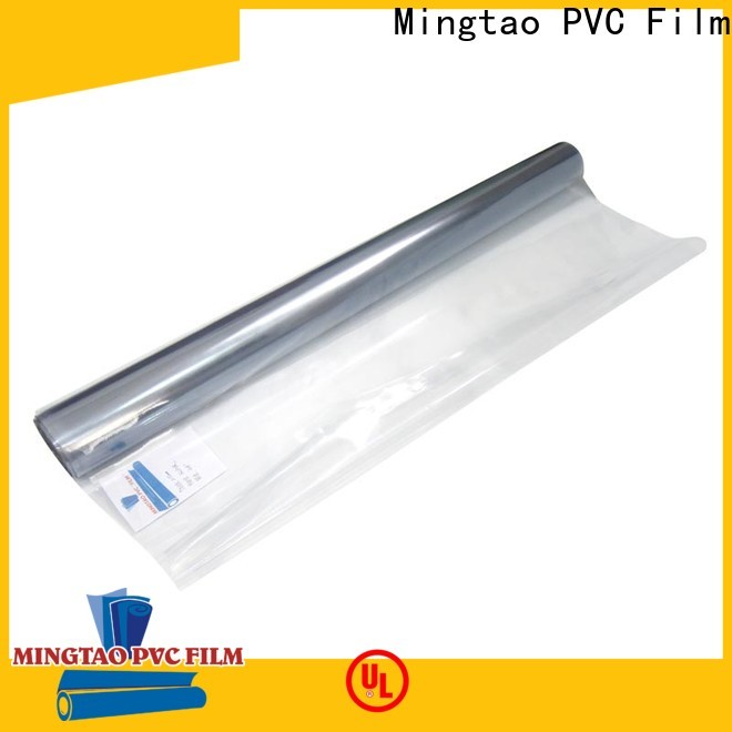 Mingtao High quality PVC pvc super clear film buy now for table cover
