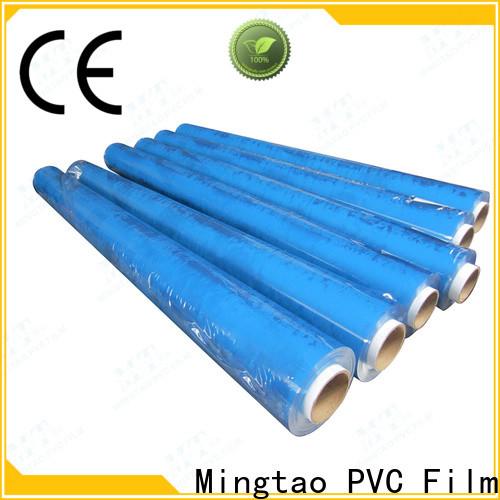 Mingtao portable clear pvc film plastic sheet rolls clear* pvc transparent sheet for wholesale for table mat