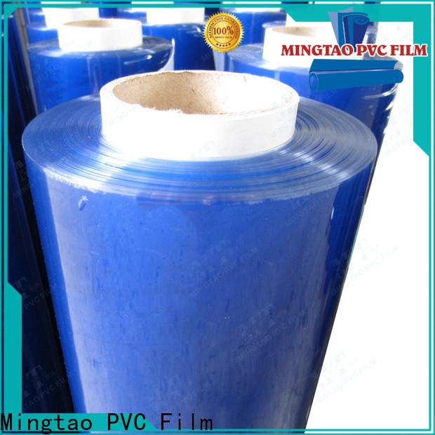 Mingtao film transparent plastic film roll OEM for book covers