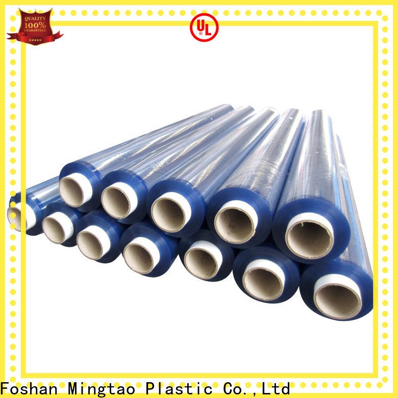 latest flexible pvc sheet High transparency free sample for television cove