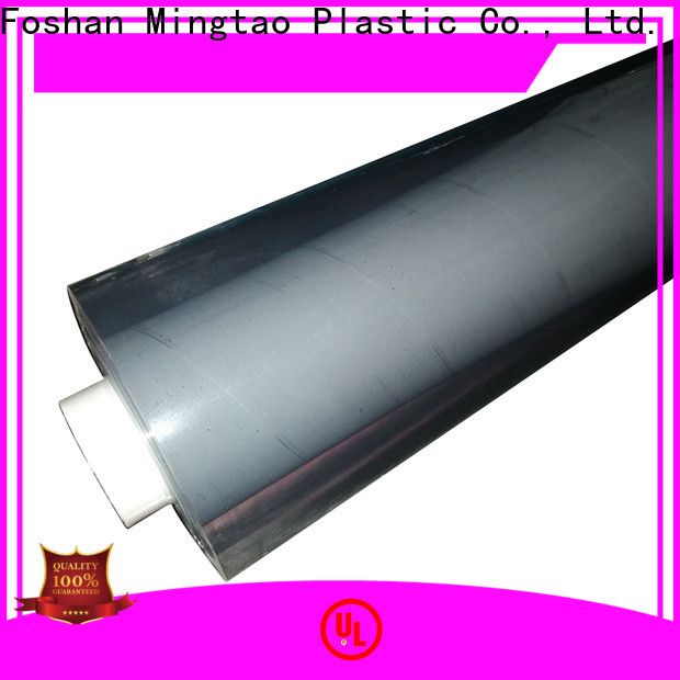 Mingtao quality pvc clear plastic rolls OEM for table cover