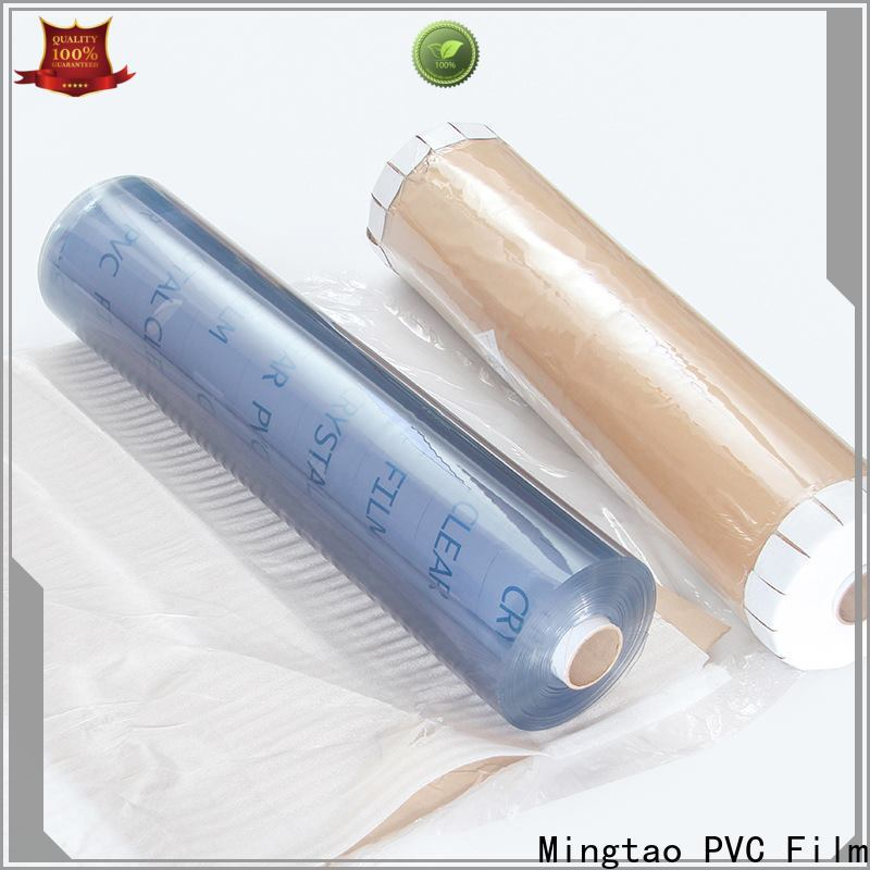 Mingtao high-quality clear vinyl film ODM for packing