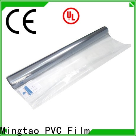 Mingtao at discount manufacturer of pvc film buy now for packing