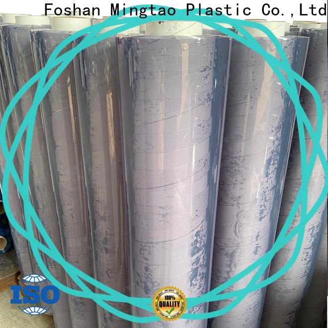 Mingtao on-sale soft pvc film bulk production for packing