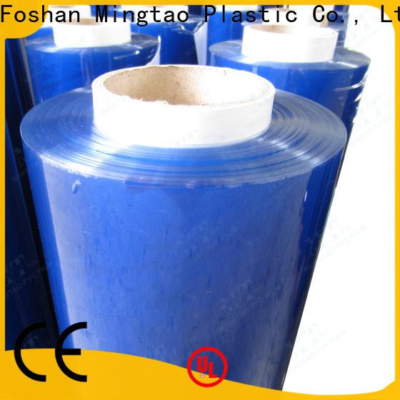 Mingtao white embossed pvc film supplier for table mat