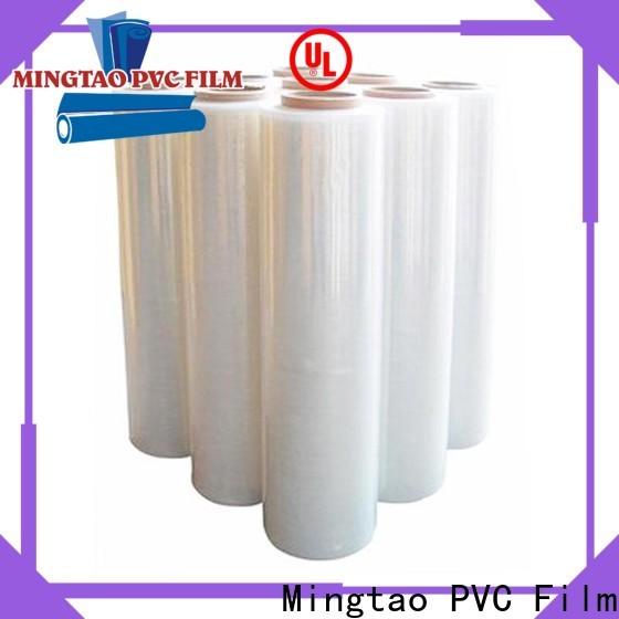 Mingtao pe blue stretch film supplier for packing