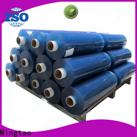 Mingtao Breathable pvc film suppliers OEM for table mat