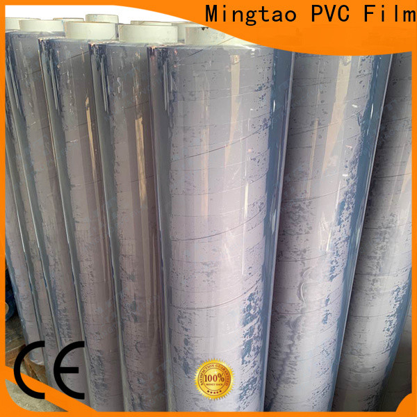 Mingtao pvc super clear film* get quote for television cove