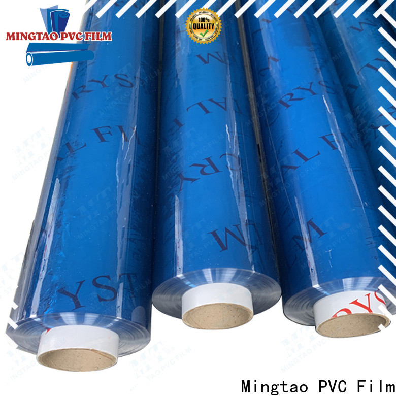 Mingtao durable pvc sheet manufacturers get quote for packing