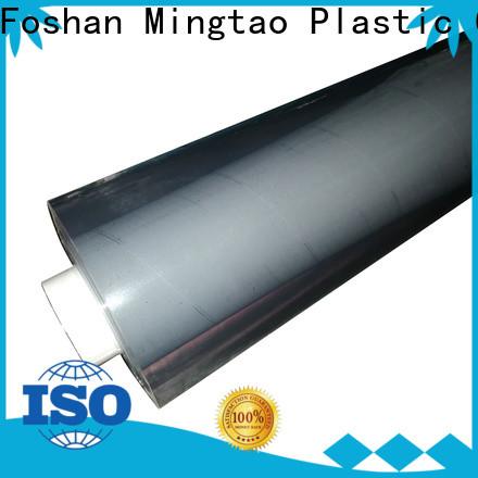 Mingtao transparent pvc plastic sheet roll OEM for book covers