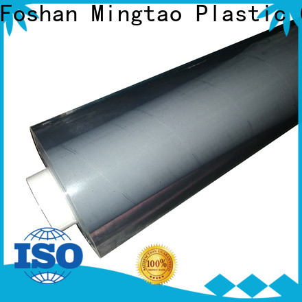 Mingtao transparent pvc plastic sheet roll OEM for book covers
