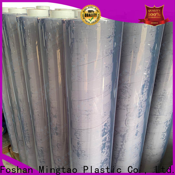 Mingtao Breathable clear plastic film get quote for table cover