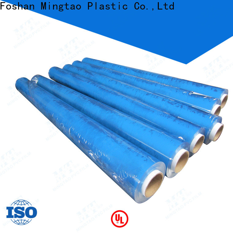 at discount clear pvc sheet roll blue OEM for table cover