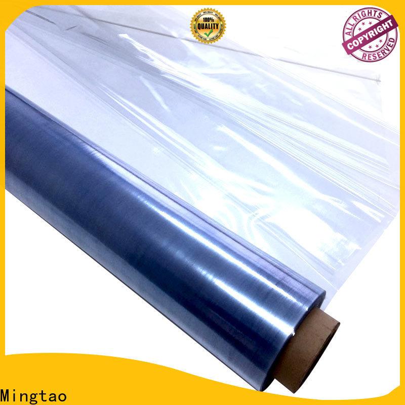 Mingtao High quality PVC transparent pvc film free sample for table cover