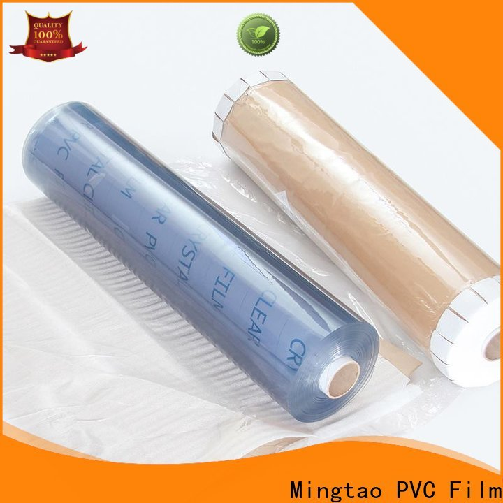 Mingtao at discount transparent plastic sheet roll for wholesale for table cover
