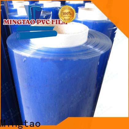 Mingtao super clear pvc vinyl rolls supplier for book covers