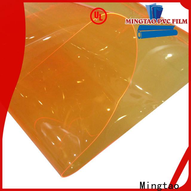 Mingtao Top vinyl upholstery fabric factory