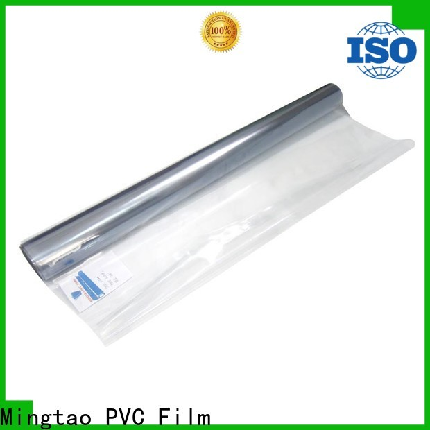 Mingtao High transparency 6 mil plastic OEM for table mat