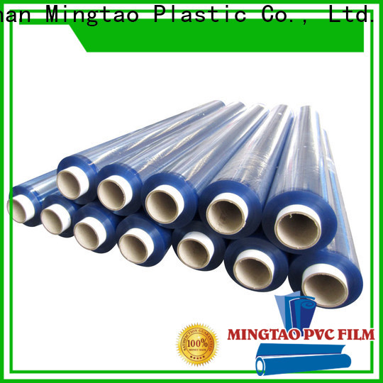 Mingtao High quality PVC pvc super clear film buy now for packing