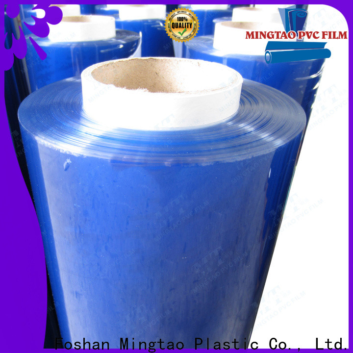 Mingtao Breathable pvc super clear film* ODM for packing