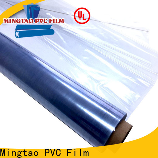 Mingtao smooth surface film pvc roll customization for packing
